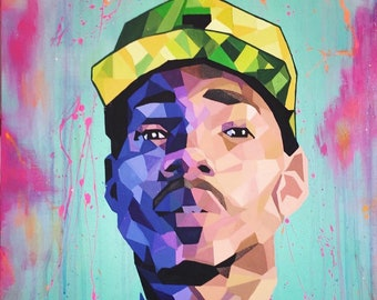 2542f09147fa6 Chance the rapper painting
