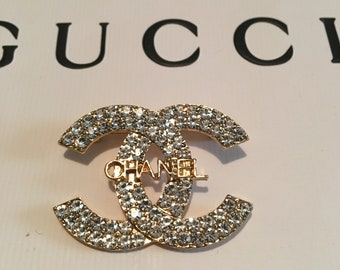 8e2a80dc1467 Chanel brooch   Etsy