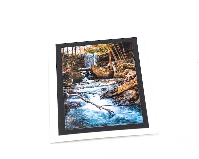 Set of 4 Cucumber Falls Notecards