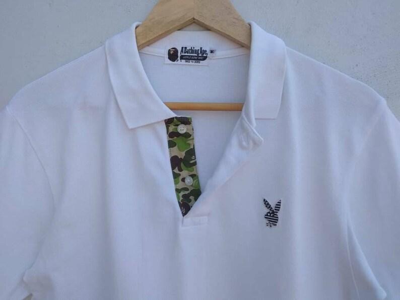 8dfe729d1 Bape X Playboy Polo T Shirt A Bathing Ape Japan Authentic Rare   Etsy