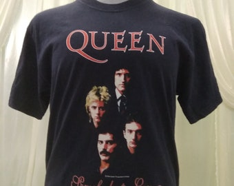 Vintage Queen Cover Somebody To Love Song Band T-Shirt