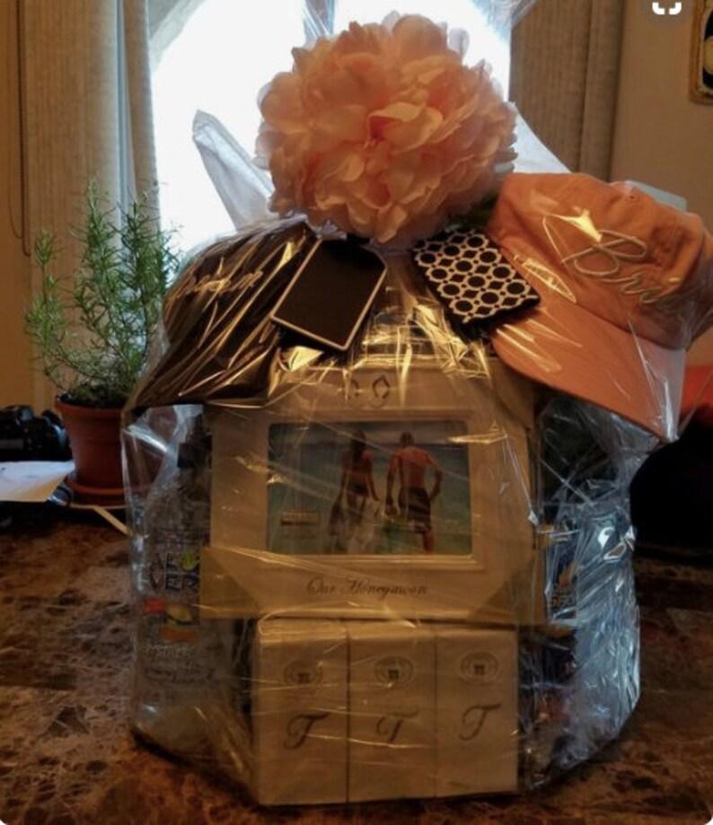 Honeymoon Bridal Gift Basket Beach Gift Basket