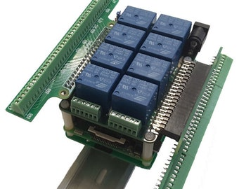 Break-out Card for Mega-IO & Raspberry Pi