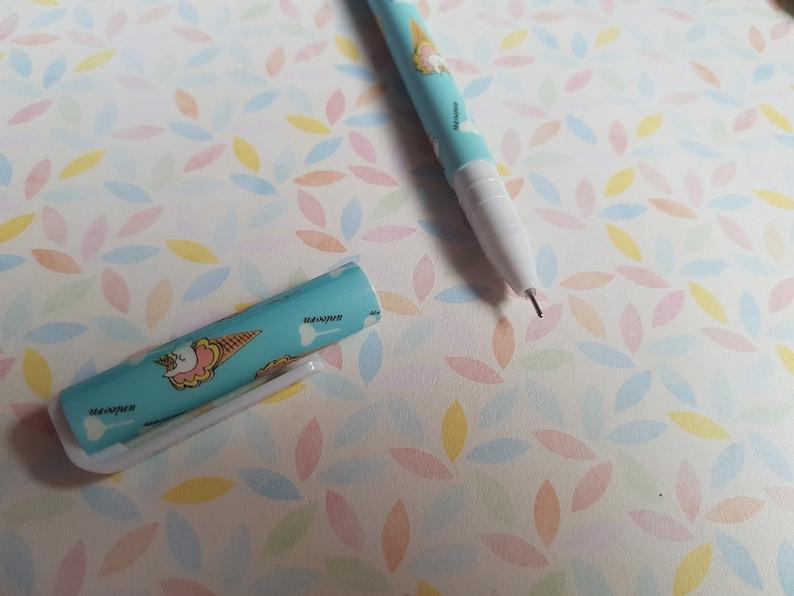 unicorn pen  flamingo pen
