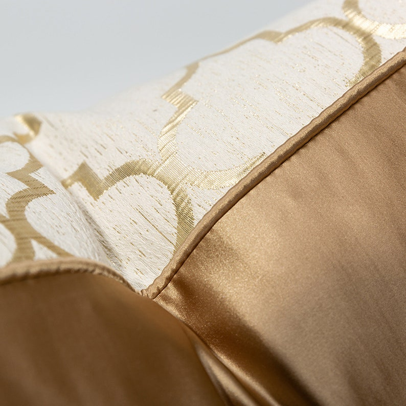 Geometry Jacquard Beige pillow cover 12 x 20,18 x 18,20 x 20,Throw Pillow Case,Minimalist Sofa Cushion Cover,Decorative cushion Home gift