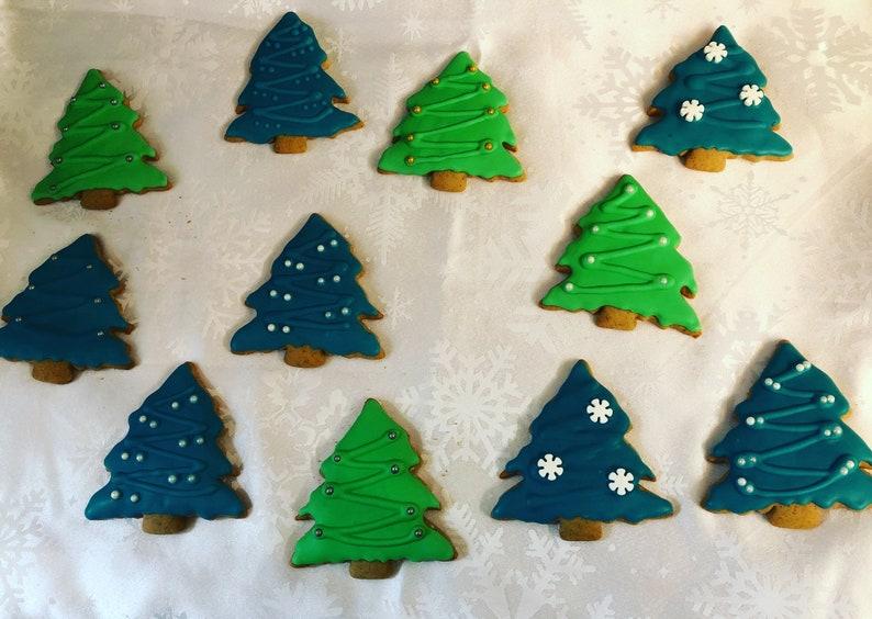 Christmas Tree Cookies Holiday Cookie