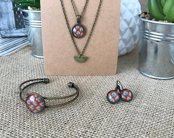 Colette jewelry set