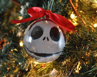 handmade nightmare before christmas classic movie christmas tree bauble gift decoration present