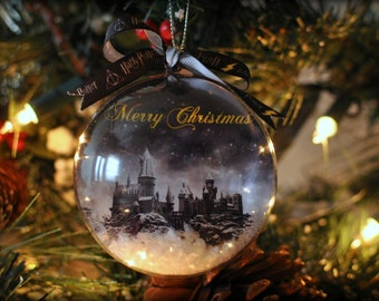 handmade harry potter classic movie film christmas tree bauble gift decoration present