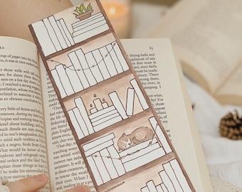 Bookshelf Tracker Bookmark (Book Tracker Bookmark)