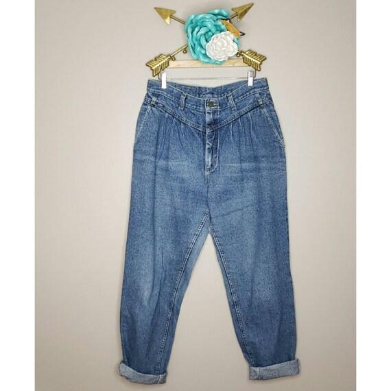 Vintage Lee Mom Jeans Size 18 Long