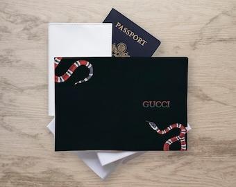 252b1d9ce03 inspired Gucci Snake Gucci Passport Cover Gucci Passport case Gucci  Passport Gucci Snake case Passport Holder Gucci Holder Gucci accessories