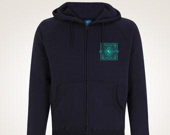 Crama Zip Hoody London Streetwear, 100% Cotton, Supreme, Stussy, Obey, Carhartt