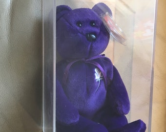 Rare Princess Diana Beanie Baby (very clean, mint condition)