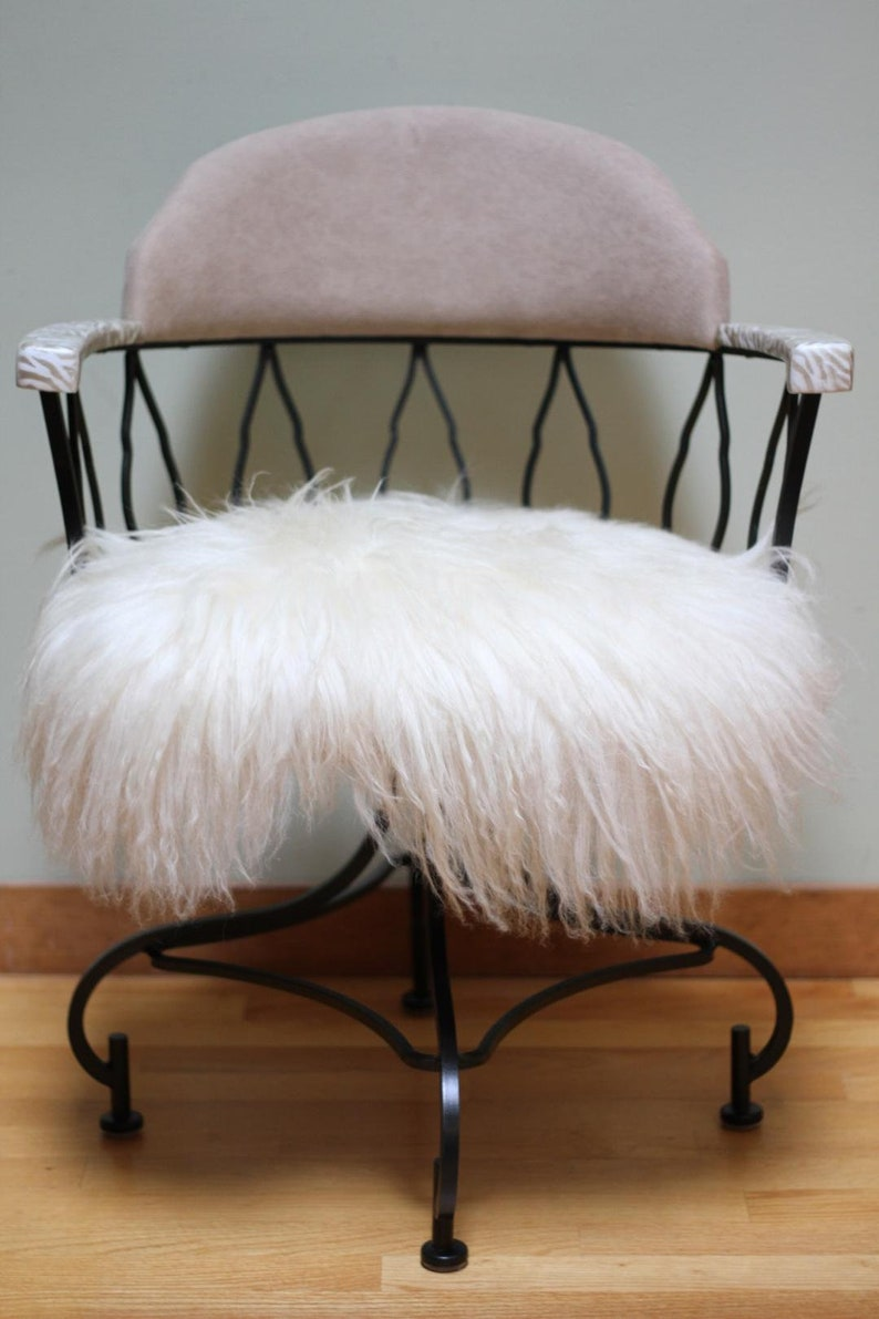 Pleasing Fur Swivel Chair Pabps2019 Chair Design Images Pabps2019Com