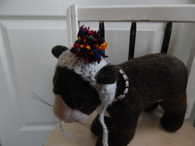 Kitten Hats *Assorted Colors* Smaller Sizes CROCHET CAT HATS