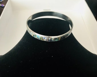 Mother of Pearl Stainless Steel Bracelet