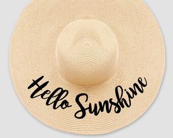 2a6172cf4 Hello sunshine hat   Etsy