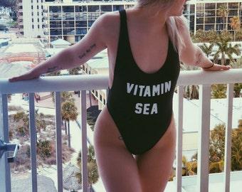 9430509babe7d Vitamin Sea Swimsuit    Women s Retro Swimsuit