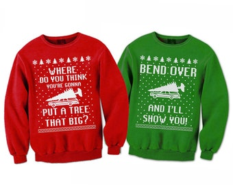 Christmas Vacation Sweaters.Christmas Vacation Sweater Etsy