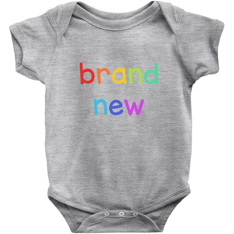 New Baby Boy Baby Body Suit Brand New Baby Onesie New Baby Girl Welcome Baby Baby Shower Gift Baby Announcement