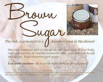 Brown Sugar Luminosa Body Scrub