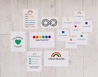 montessori Peaceful Routine and Affirmation Card Kit for Children *DIGITAL EDITION ONLY