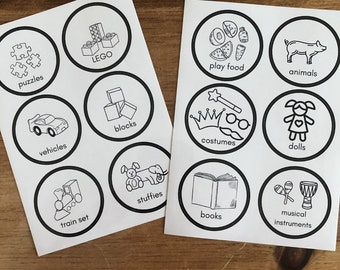 Toy Stickers for Children