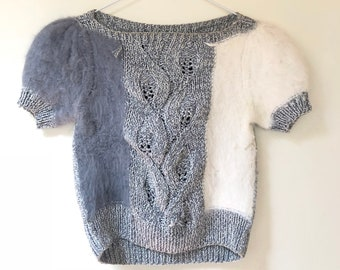 One of a Kind Vintage Cropped Sweater