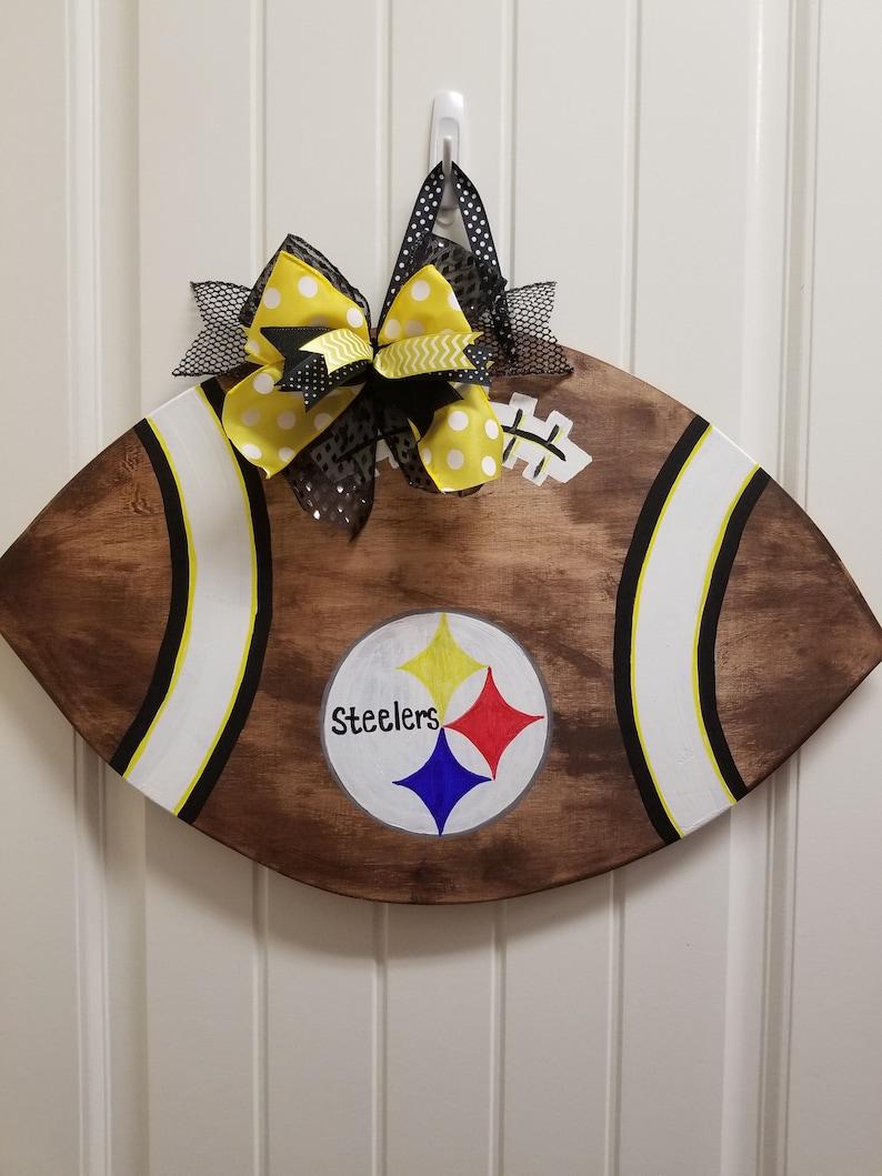 Home Décor Home & Living Steelers football decor Steelers decor ...