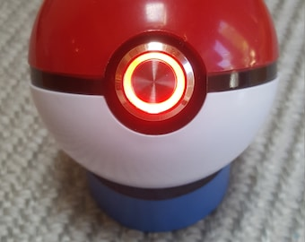 Working Custom PokeBall With Red LED