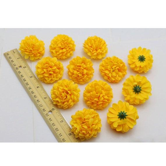 10//50//100X Artificial Sunflower Daisy Silk Flower Head Wedding Party Home Decor