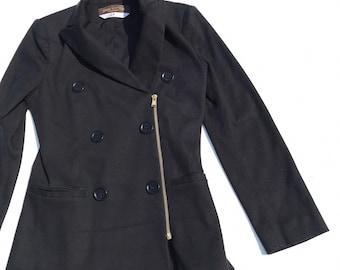 bfd7264d5 vintage louis vuitton off centre zipper blazer jacket for women