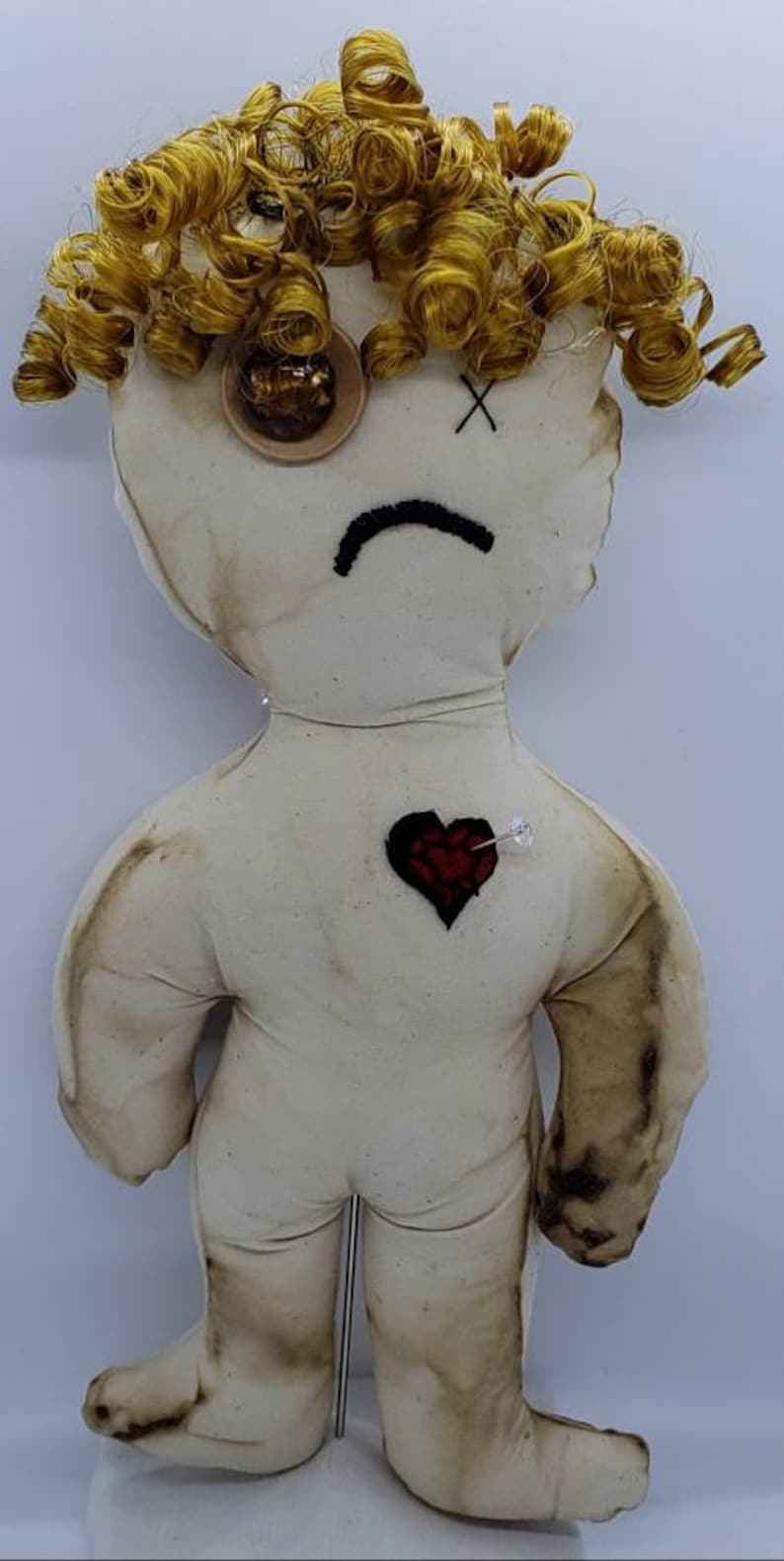 2 face generic Voodoo doll
