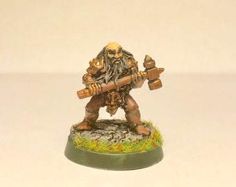 Painted Dwarf Fighter