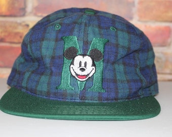 404014aa1b647 Mickey Mouse Vintage Embroidered Snapback Hat