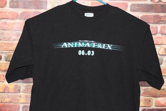 The Animatrix Movie Promo Vintage Shirt, Movie Shi