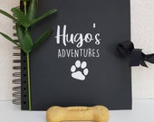 Personalised Scrapbook Photo Album for Puppies and Dogs Adventures 8x8
