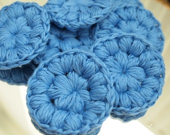 Crocheted makeup remover pads (lot of 7)
