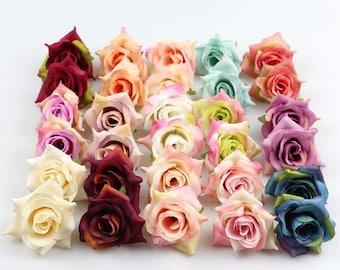 Balloon Mini Ivory Foam Rose Bud Decorations Garland Decor Artificial Gift Birthday Botanics Smash Cake Bride To Be Wedding Decor