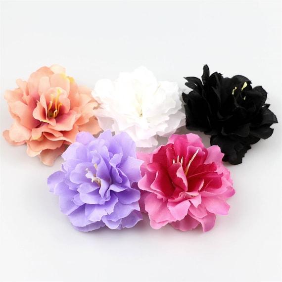 8cm Carnation Artificial Silk Fake Peony Flowers Floral Heads Wedding Home Deco