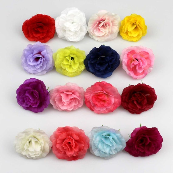 Artificial Flowers Roses Head DIY Wedding Centerpieces Home Decorations 120x