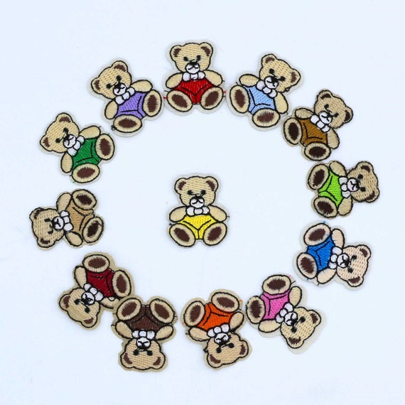 Cute 12Pcs Christmas Iron-on Embroidered Patch For Clothing