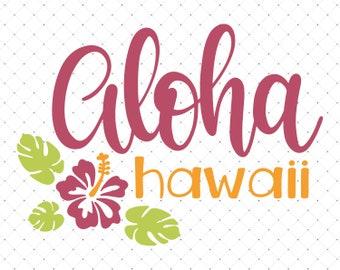 Aloha hawaii svg/Aloha clipart