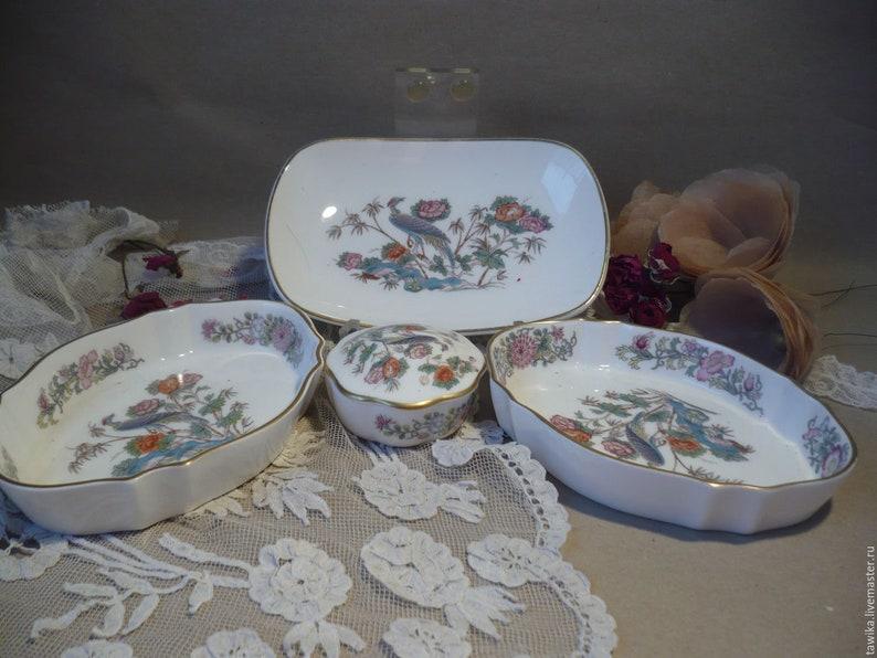 Ensemble de bols, porcelaine, Wedgwood, Anitque, Vintage