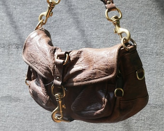 8c254a7f8d4f Vintage Miu Miu Brown Leather bag