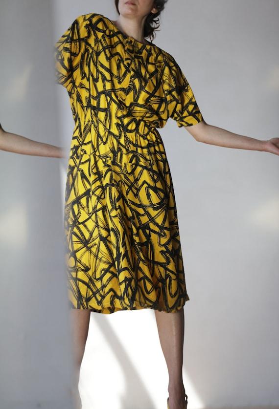 Balenciaga vintage 80s dress