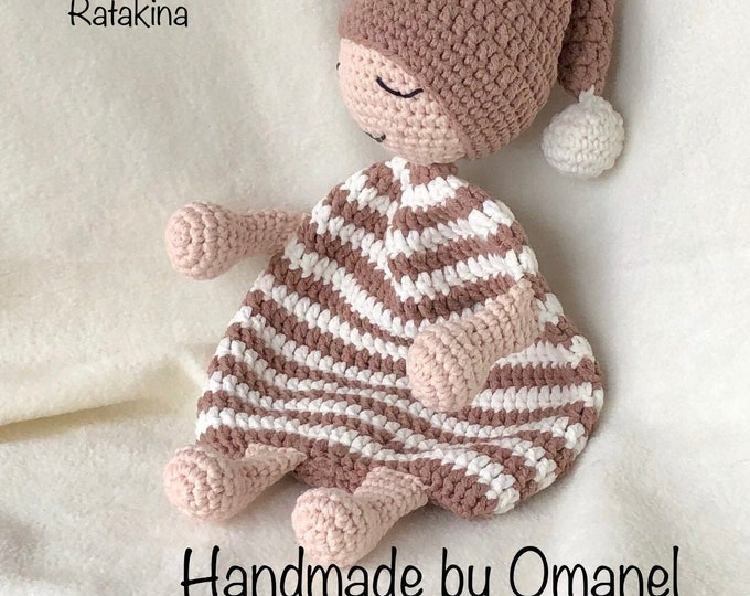 Cuddly Doll Handmade by Omanel