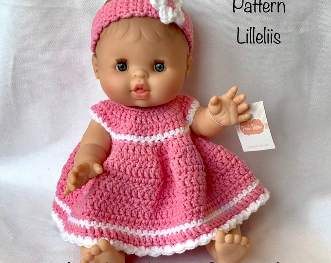 Doll Alicia with crochet dress