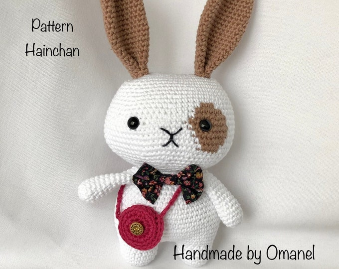 Rey the Little Bunny-handmade by Omanel